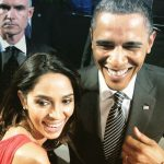 Mallika Sherawat with Barack Obama