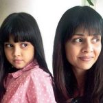 Manasi Salvi with her daughter Omisha Phrabu