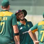 Mandeep Singh fielding for South Africa A