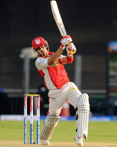 Mandeep Singh playing for KXIP