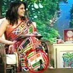 Mandira Bedi flag saree controversy