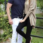 Mariam Habach with her Pacar Anthony Chawa