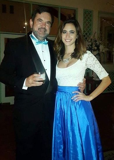 Marina With Her Father