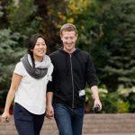 Mark Zuckerberg with Priscilla Chan