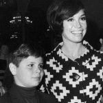 Mary Tyler Moore with her son, Richard Meeker Jr.