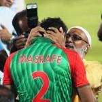 Mashrafe Mortaza with his father