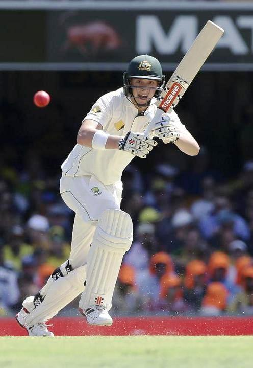 Matt Renshaw batting