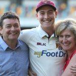 Matt Renshaw parents
