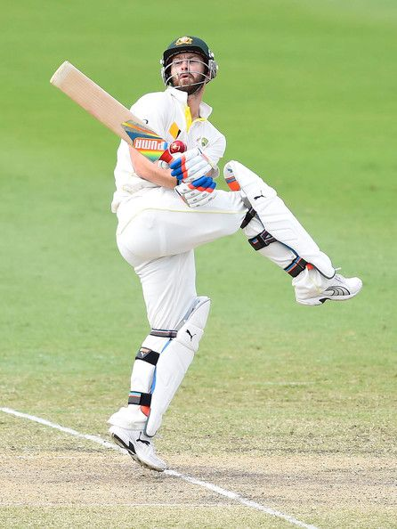 Matthew Wade batting