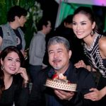 Maxine Medina With Her Father & Mother