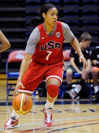 Maya Moore playing