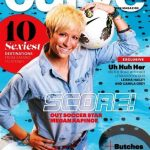 Megan Rapinoe on the cover of Curve