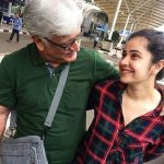 Meher Vij with her father