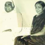 Meira Kumar with her father