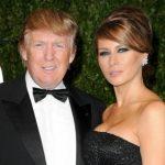 Melania Trump with her husband Donald Trump