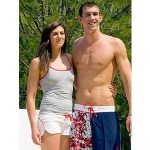 Michael Phelps with his Ex-girlfriend Stephanie Rice