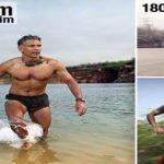 Milind Soman Ironman Triathlon