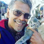 Milind Soman, an animal lover
