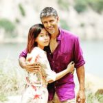 Ankita Konwar with her husband Milind Soman