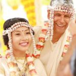 Ankita Konwar and Milind Soman wedding
