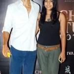 Milind Soman with Shahana Goswami