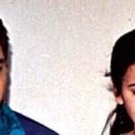 Mohammad Azharuddin with his first wife Naureen