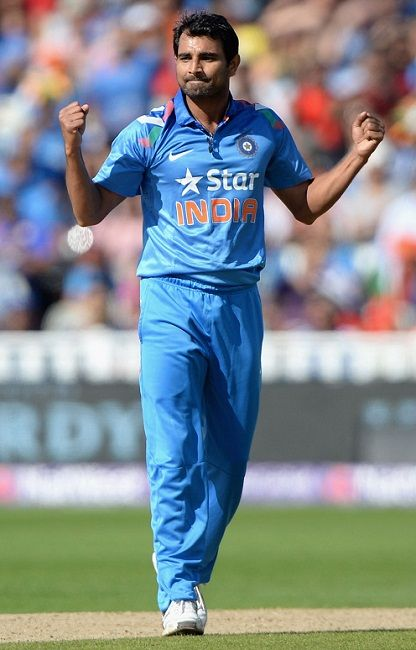 Mohammed Shami Indian cricketer