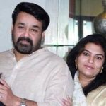 mohanlal-with-his-wife-and-children