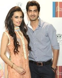 Momal Sheikh with her brother