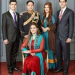 Momina Mustehsan with Family