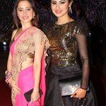 Mouni Roy with Sanjeeda Sheikh
