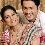 Mrunal Jain with his mother