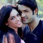 Mrunal Jain with his wife