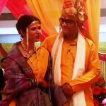 Mrunmayee Lagoo with her husband