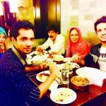 Mudassar Khan with his family
