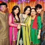 Muskaan Mihani with her family