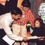 Muskan Bhamne childhood photo