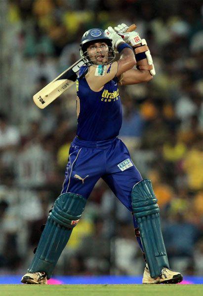 Naman Ojha batting
