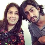 Namit Khanna With His Mother