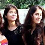 Namita Dubey with her sisters, Ratna & Ankita