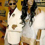 Naomi Campbell with Usher
