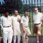 Narendra Modi Outside the White House