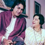 Nargis with Sunil Dutt
