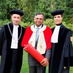Natarajan Chandrasekaran received Honorary Doctorate from Nyenrode