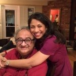 Natasha with his Father Tarek