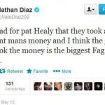 Nate Diaz Controversial Tweet