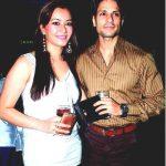 Nausheen Ali Sardar with Prashant Chainani