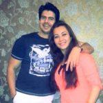 Nausheen Ali Sardar with Rahil Azam