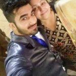 Navdeesh Arora with his sister