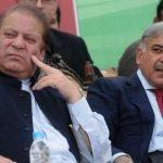 Nawaz Sharif with his Brother Shehbaz Sharif